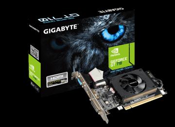Placa video Gigabyte NVIDIA GeForce GT710, 2048MB DDR3, 64bit