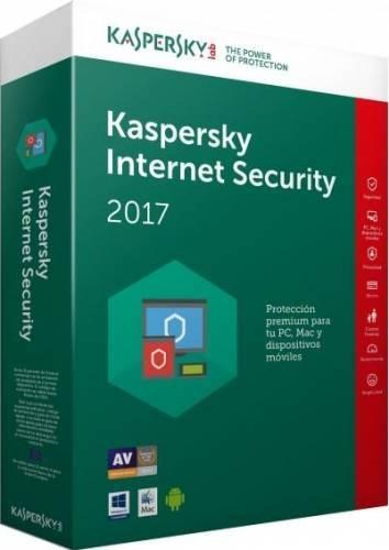 Antivirus Kaspersky Internet Security 2017, 1PC, 1An, Retail