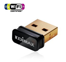 Adaptor Wireless-N 150Mbps USB Edimax nano