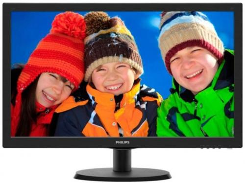 Monitor LED Philips 223V5LSB2/62, 21.5'', Full HD, Negru