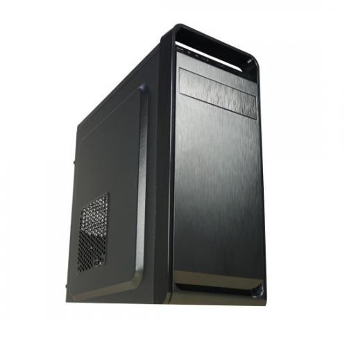 Sistem Base Office2, Intel Core i3-9100F 3.6GHz (4C/4T), RAM 8GB DDR4, HDD 1TB, video dedicat GT710 1GB DDR3, DRW, tastatura+mouse USB, DOS