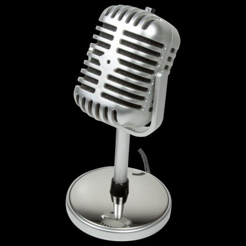 Microfon LogiLink HS0036, Silver