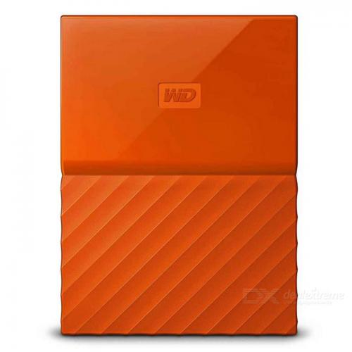 "HDD extern Western Digital My Passport 1TB, 2.5"", USB 3.0, Portocaliu"