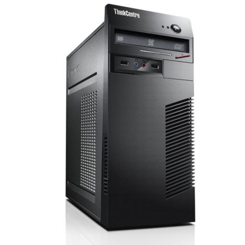 Sistem PC refurbished LENOVO M71e, tower, Intel i3-2120 3.3GHz, RAM 4GB DDR3, HDD 250GB, DRW, DOS