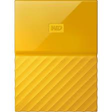 """HDD extern Western Digital My Passport WDBYNN0010BYL-WESN, 1TB, 2.5"""", USB 3.0, Galben"""