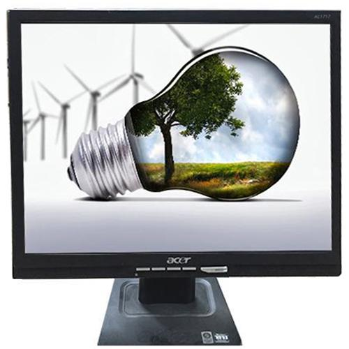 "Monitor Acer AL1717, 17"" LCD, 1280x1024, 5ms, 300cd/m2, VGA, negru - refurbished"