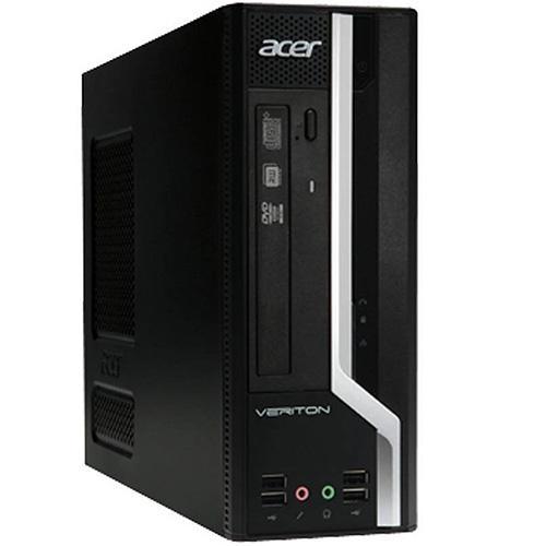 Sistem PC refurbished ACER X680G desktop, Intel Core i3-540 3.06GHz, RAM 4Gb DDR3, HDD 250GB, DRW, DOS