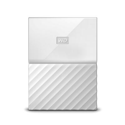 "HDD extern Western Digital My Passport 1TB, 2.5"", USB 3.0, Alb"