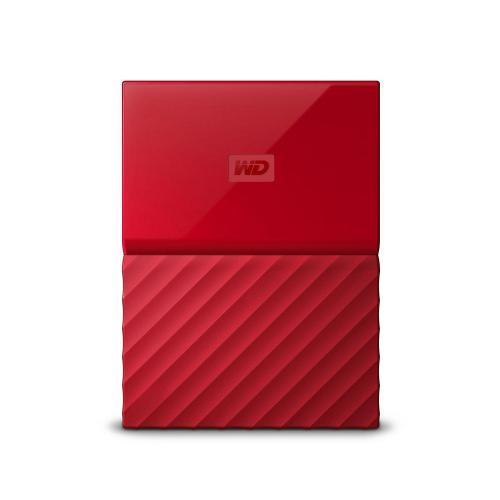 """HDD extern Western Digital My Passport 1TB, 2.5"""", USB 3.0, Rosu"""