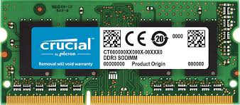 Memorie Crucial CT25664BF160BJ, 2GB DDR3, 1600MHz, CL11