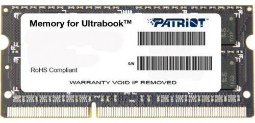 Memorie Patriot PSD34G1600L81S, 4GB DDR3, 1600 MHz, CL11