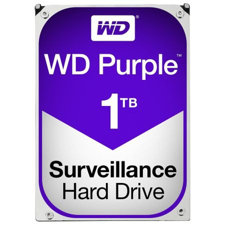 Hard-disk Western Digital Surveillance Purple, 1TB, SATA 3, 5400 rpm, 3.5""
