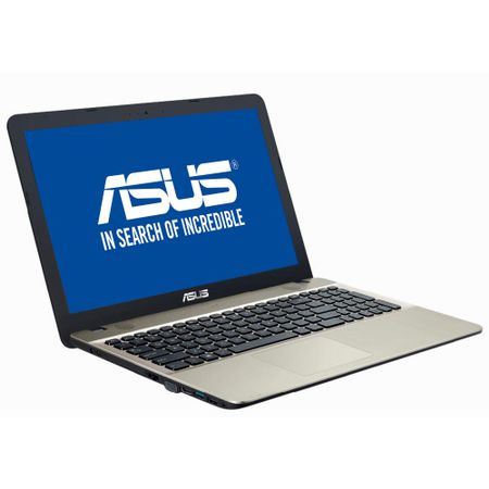 Notebook ASUS X541NA-GO008, 15.6 HD LED, Intel Celeron Dual Core N3350 pana la  2.4GHz, RAM 4GB DDR3L, HDD 500GB, video integrat Intel HD, DVDRW, DOS