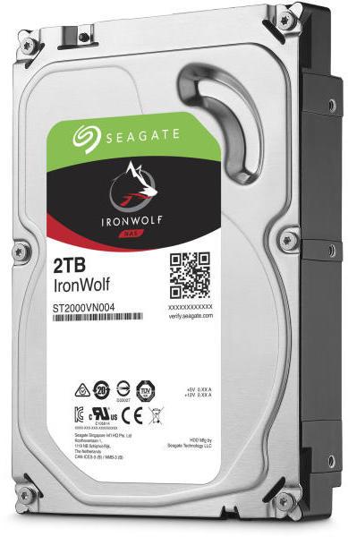 "Hard-disk Seagate  IronWolf ST2000VN004, 2TB, SATA 3, 5900 rpm, 64MB, 3.5"""