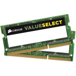 Kit Memorie Corsair Value Select CMSO8GX3M2C1600C11, 8GB DDR3, 1600MHz, CL11