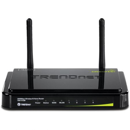 Router TrendNet TEW-731BR, Black