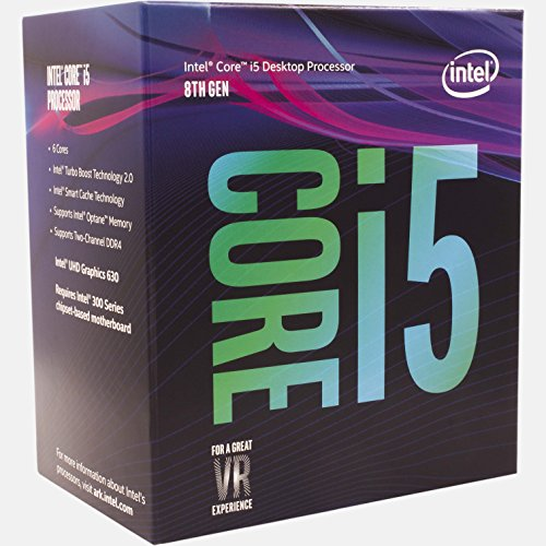 Procesor Intel Core i5-8400, Coffee Lake, 2,8GHz / 4GHz, LGA1151, 9MB, 65W, BOX (include cooler)