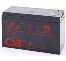 Baterie UPS CSB Batery GP1272F2, Black