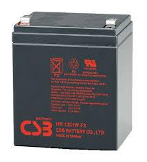 Baterie UPS CSB Batery HR1221WF2, Black