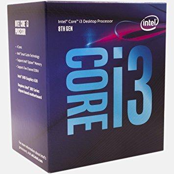 Procesor Intel Core i3-8100, 3.6GHz, 6 MB, Socket LGA1151, BOX