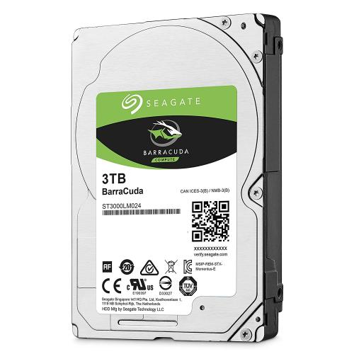 Hard-disk Seagate Barracuda Guardian ST3000LM024, 3TB, SATA III, 5400 rpm, 128MB, 2.5""