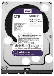 """Hard-disk Western Digital Purple WD30PURZ, 3TB, SATA 3, 5400 rpm, 64Mb, 3.5"""""""