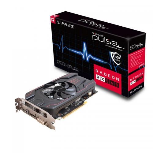 Placa video Sapphire RADEON RX 560, 2GB GDDR5, 128bit, 1750MHz/7000 MHz, HDMI/DVI/DP, PCIe 3.0 x 16