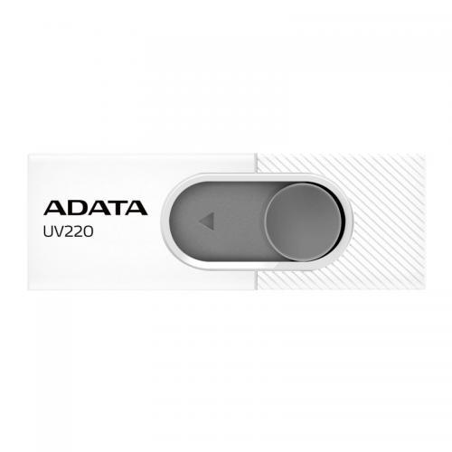 Memorie USB A-data AUV220-32G-RWHGY, 32GB, USB 2.0, White/Gray