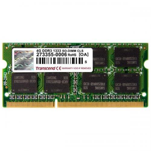 Memorie Transcend TS4GAP1333S, 4GB DDR3, 1333MHz