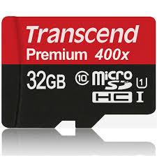 Card de memorie Transcend TS32GUSDCU1, 32 GB, Clasa 10
