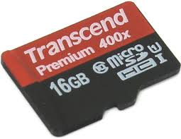 Card de memorie Transcend TS16GUSDCU1,16 GB, Clasa 10