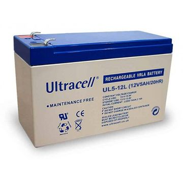Baterie UPS Ultracell UL12V5AH, White