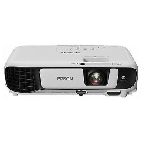 Videoproiector Epson EB-W41, 3LCD, WXGA(1200x800), 3600lm, 15000:1, HDMI, geanta, Alb