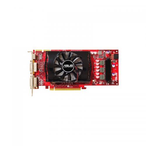Placa video Asus AMD Radeon HD 4830, 512MB DDR3, 256 bit, 575 MHz/ 1800 MHz, D-Sub/DVI, HDTV, PCI Express 2.0