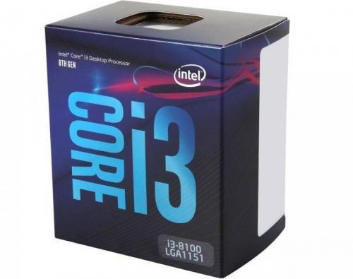 Procesor Intel Core i3-8100, 3.6GHz, 6MB, Socket LGA1151, Box
