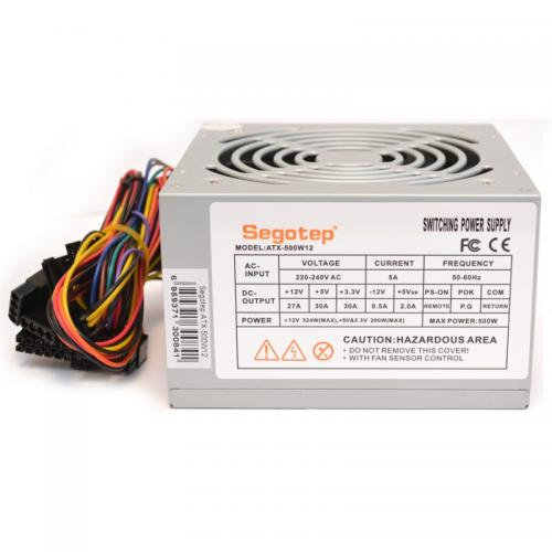 Sursa Segotep ATX-500W12, 500 W, White