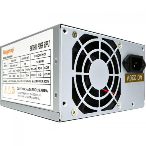 Sursa Segotep ATX-500W12, 500 W, Silver