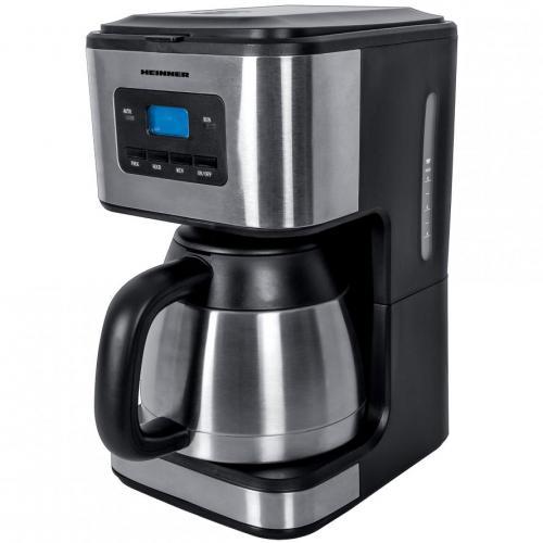 Cafetiera Heinner Digitala HCM-900XMC, 900W, Silver/Black