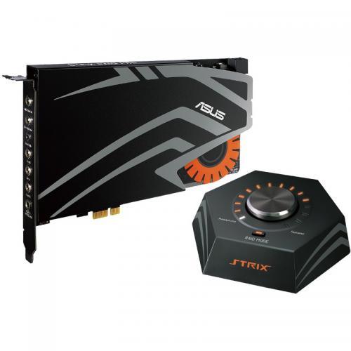 Placa de sunet ASUS Strix Raid Pro, 7.1, PCI-E, Black