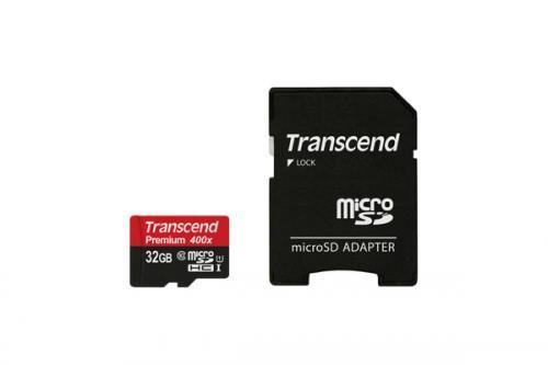 Card de memorie Transcend TS32GUSDU1, 32 GB, Clasa 10 + Adaptor