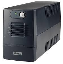UPS Mustek PowerMust 600 EG Line Interactive LED 600-LED-LIG-T10, Black