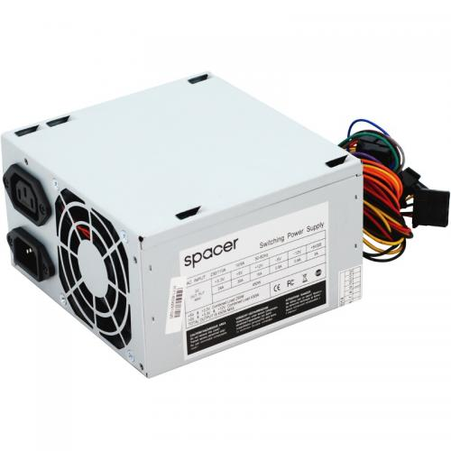 Sursa Spacer SPS-ATX-450, 450W, White