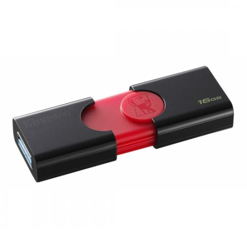 Memorie USB Kingston DT106/16GB, 16GB, USB 3.0, Black