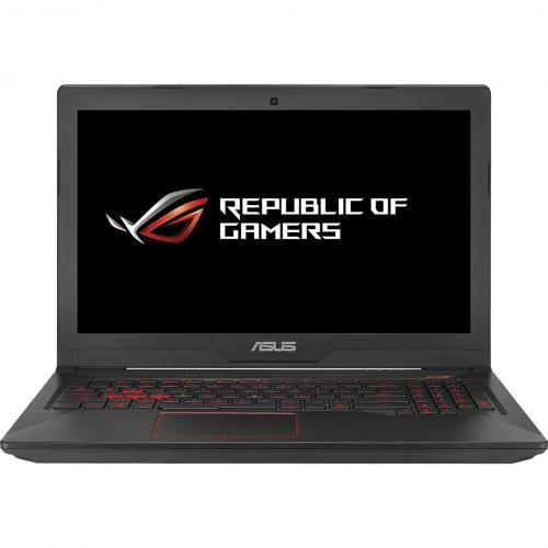 "Notebook ASUS Gaming FX503VD-E4150, 15.6"" FullHD LED IPS, procesor Intel Core i5-7300HQ 2.5GHz, RAM 8GB DDR4, SSD 256GB, video dedicat GTX1050 4GB GDDR5, tastatura iluminata, negru"