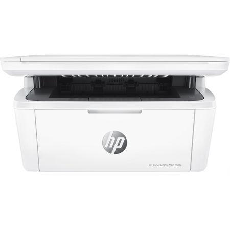 Multifunctional laser alb-negru HP LaserJet Pro M28A, A4, 18ppm, USB, alb