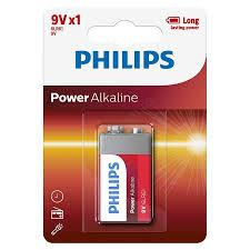 Baterie Philips Power Alkaline 9V 1-blister