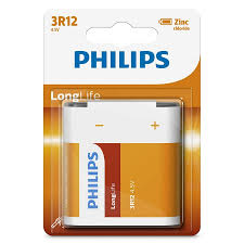 Baterie Philips LongLife 4,5V 1-blister