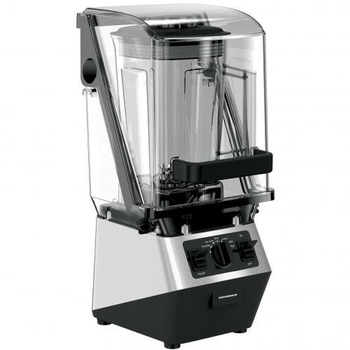 Blender de masa high power  Heinner HBL-HS2000SL, 2200 W, highproblend, 30.000 rpm, bol tritan 2 L, 3 viteze+pulse, Negru/Argintiu