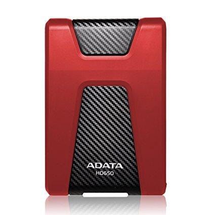 """HDD extern A-data AHD650-1TU31-CRD, 1TB, 2.5"""", USB 3.1, Rosu"""