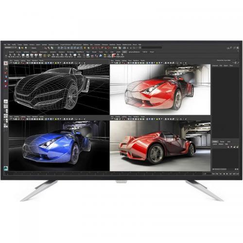"Monitor LED AH-IPS Philips BDM4350UC, 43"", Wide, UHD 4K, Black+ Silver"